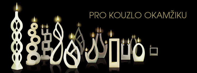 Víceplamenné svíčky Alusi